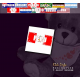"""Teddy """"Flagge Peru"""""""