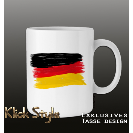 Tasse Splash-Flag Deutschland