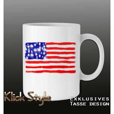 """Tasse """"Splash-Flag USA"""""""