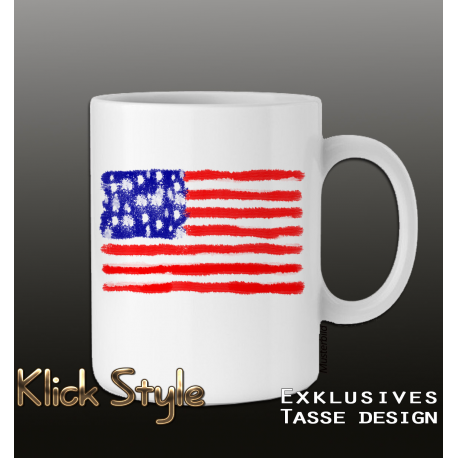Tasse Splash-Flag USA
