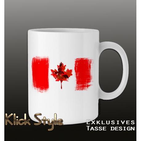 Tasse Splash-Flag Kanada