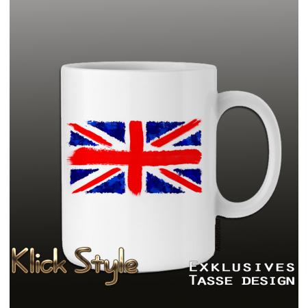 Tasse Splash-Flag Vereinigtes Königreich