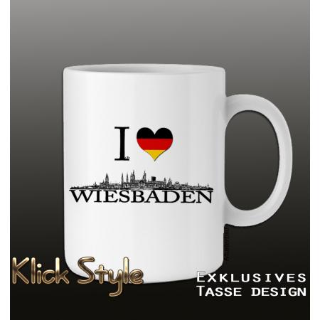 """Tasse """"Ich liebe Wiesbaden"""""""
