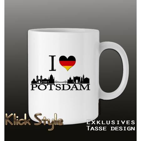 """Tasse """"Ich liebe Potsdam"""""""