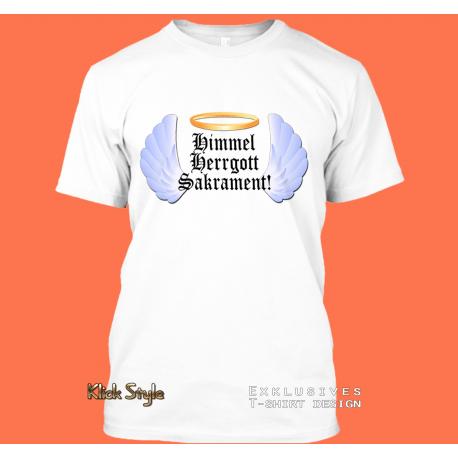 "T-Shirt ""Himmel, Herrgott, Sakrament"""