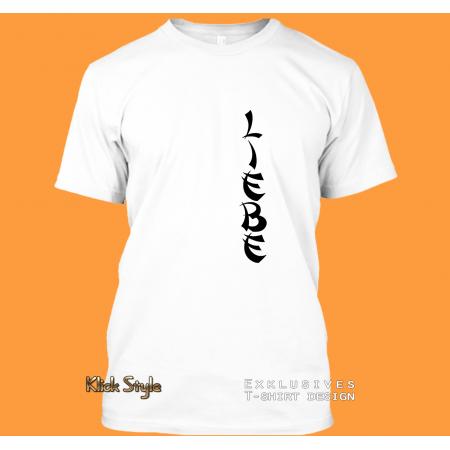 """T-Shirt Text """"Liebe"""""""