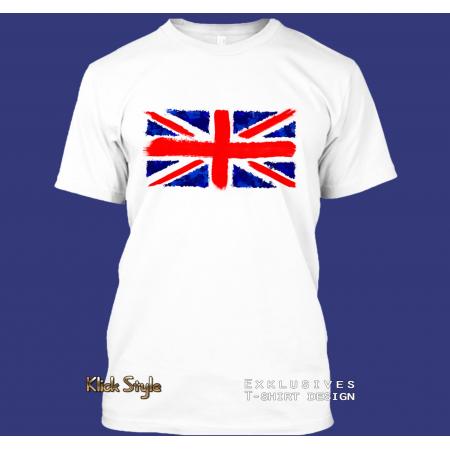 "T-Shirt ""Splash-Flag Vereinigtes Königreich"""
