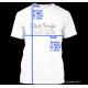 """T-Shirt Wort auf Flagge """"Deutschland"""" mit s-r-g Muster"""