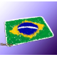 "Mousepad ""Splash-Flag Brasilien"""