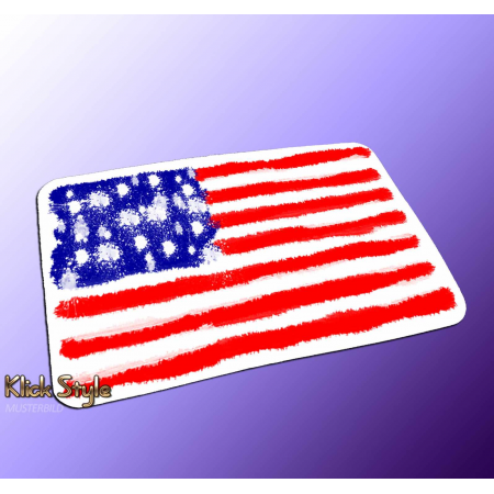 "Mousepad ""Splash-Flag USA"""