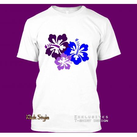 T-Shirt Hibiskus