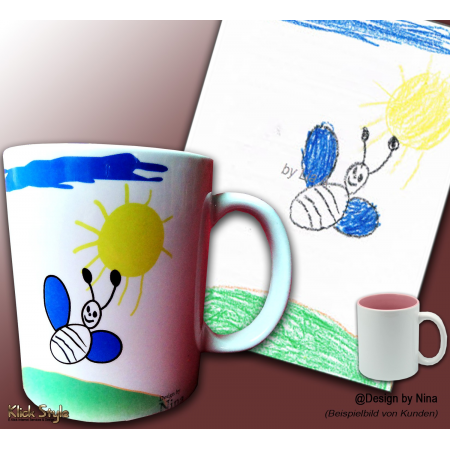 "Tasse ""Kinder Design"""