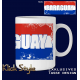 """Tasse Wort auf Flagge """"Paraguay"""""""